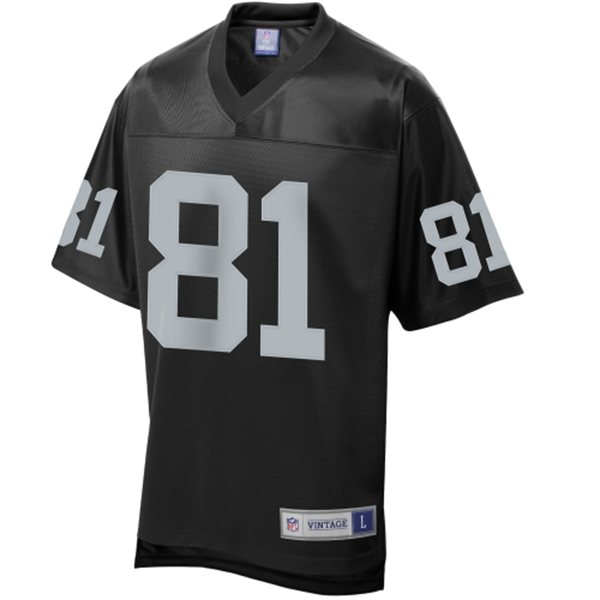 Mens Oakland Raiders Tim Brown Pro Line Black Retired Player Jersey  for cheap
